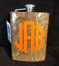Personalized Stainless Steel Camo Flask - $14.95
