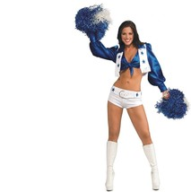 Dallas Cowboys Cheerleaders - Costume - Sexy Adult - Extra Small - Size 2-6 - $37.86