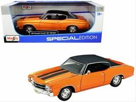 Maisto 1971 Chevrolet Chevelle SS 454 Sports Coupe 1:18 Scale Diecast Ca... - $24.99