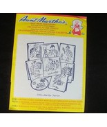 Aunt Marthas Hot Iron Transfer Murtle Turtle 3766 Days Of The Week - $5.20
