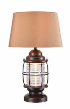 Kenroy Home Rustic Table Lamp, 26 Inch Height with Bronze Finish - $261.00