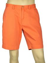 Polo Ralph Lauren Men's Classic-Fit Flat-Front Chino Shorts, Resort Orange, 31 - $49.49