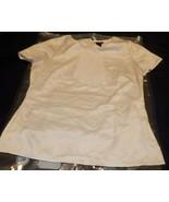 East 5th Women's Cream Ruffle Short Sleeve Blouse Small - $14.84