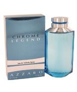 Chrome Legend for Men by Azzaro Eau De Toilette Spray 4.2 oz  - $32.98