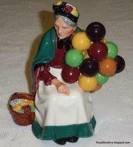 """The Old Balloon Seller"" HN1315 Royal Doulton Figurine - GREAT CHRISTMAS... - $130.94"