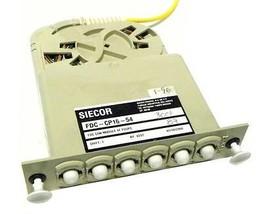 SIECOR FDC-CP16-54 FDC CON MODULE 6F FCUPC - $29.99