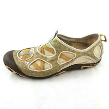 Merell Green Yellow Slip-On Trail Outdoor Hiking Shoes Flats Womens 10 - $19.64