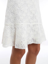 NWT SEE by CHLOE trapeze skirt lace 40 4 off-white lined mini felted $35... - $193.99