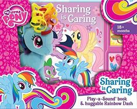 My Little Pony - Sharing is Caring Sound Book and Rainbow Dash Plush - P... - $14.26