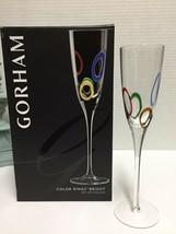 Gorham Color Rings Bright Set of 4 Flutes - $14.95