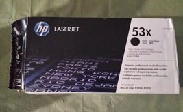 HP Q7553X Black Toner Cartridge 53X Genuine New (hwy1) - $38.86