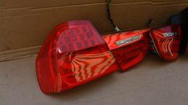 09-11 BMW E90 4dr Sedan Taillight lamps Set LED 328i 335i 335d 328 335 320i image 5