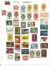 Liechtenstein, Luxembourg, Malay States, Malaya, Mali, Madagaska... - $13.50
