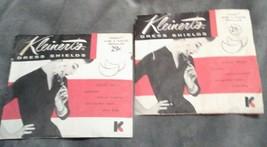 Vintage KLEINERTS Dress Shields Size 2 Regular White Lot of 2 Packs - $8.59