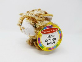 Melissa & Doug Trixie Orange Tabby Stuffed Plush - NWT - $14.99