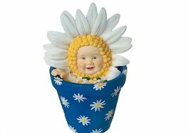 Anne Geddes Figurine Enesco vtg 1998 sunflower baby Child smile brighten... - $34.60