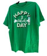 Unisex Novelty T-Shirt Happy St Patricks Day Green Crew Neck Short Sleev... - $17.67