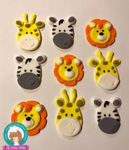 Safari fondant cupcake topper - $38.00