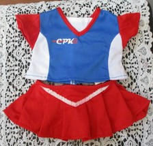 Cabbage Patch Kids Red White & Blue Tennis Outfit Top & Skirt CPK 2005 - $21.77
