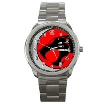 Sport Metal Unisex Watch Highest Quality I Am Very Expensive - $23.99