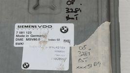08-10 BMW 328i 528i DME ECU EWS Key Immobilizer Ignition Set - Auto Trans image 4