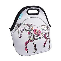 Lunch Boxes, OFEILY Lunch Tote Lunch bags with Neoprene Middle, Flower Horse - $13.92