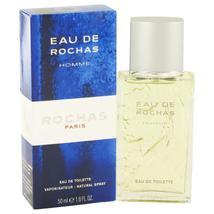 EAU DE ROCHAS Eau De Toilette Spray 1.7 oz For Men 100% authentic perfec... - $29.05