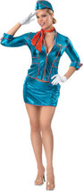 Secret Wishes Sexy Airplane Stewardess Babe Size X-SMALL - New!! - $53.77