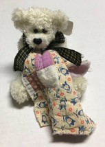 Aunt Ginnie's Antique Bear Collection Plush Teddy Stuffed Animal Blanket... - $23.75