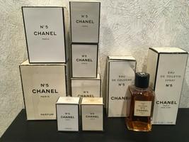 Rare Vintage❤️chanel 5 Perfume & Edt & Edc Different Options - $28.71+