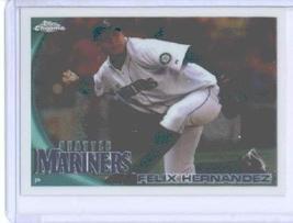 2010 Topps Chrome Baseball Card # 92 Felix Hernandez - Seattle Mariners - MLB Tr - $0.97