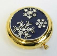 Estee Lauder Winter Snowy Night Snowflake Lucidity Powder Compact Estate - $48.99
