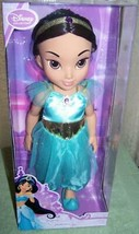 "Disney Collection Jasmine Toddler Doll 15""H New - $26.50"