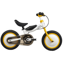 Xiaomi QICYCLE Bike Tricycle Scooter 12  for Children Yellow Color Slide... - $392.00