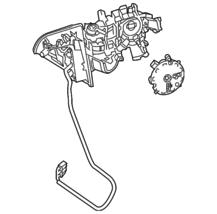 Genuine Mercedes-Benz Mirror Assembly 166-810-98-00 - $374.79