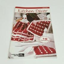 Kitchen Décor 19 Crochet Projects Leisure Arts Little Book #75026 - $11.64
