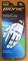 Bionic Golf Glove ReliefGrip - White - Leather - $39.55+