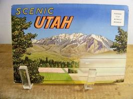 Souvenir Postcard Folder of Scenic Utah Vintage - $4.99