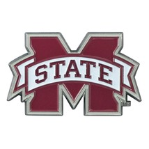 Fanmats NCAA Mississippi State Bulldogs Diecast 3D Color Emblem Car Truck RV - $10.64