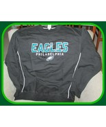 Philadelphia Eagles NFL Team Apparel Men's Black Sweatshirt Medium - $54.40