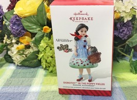 Hallmark Dorothy In the Poppy Fields ornament Wizard of Oz Ornament 2014 - $19.75
