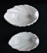 Collectible 2 Ceramic Lenox Seashell Candy Dishes Made In The U.S.A. - $15.99