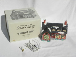 "1988 Dept. 56 Snow Village Christmas ""Stonehurst House"" Building #5140-3... - $14.99"