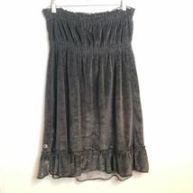 OP Black Leighweght Sparkley Top or Dress Sz L - $21.78