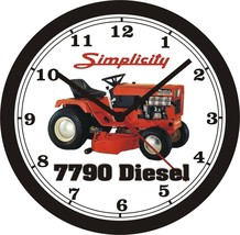 Simplicity 7790 Diesel Lawn Tractor Wall CLOCK-FREE Us Ship - $26.72+