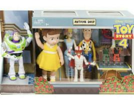 Disney Pixar Toy Story 4 Antique Shop Adventure Pack 8 Figures Buzz Lig... - $54.44
