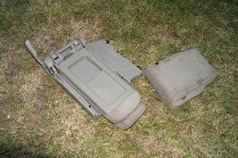 05-10 Honda Odyssey Plus One Center Middle Jump Seat FABRIC / CLOTH - Olive image 12