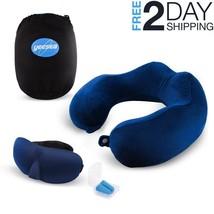 Memory Foam U Shaped Travel Pillow Neck Support Head Rest Car Plane Soft... - $11.99