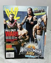 WWE Magazine April 2008 All Out War With Foldout Poster Rey Mysterio - $6.79