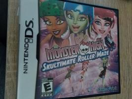 Nintendo DS Monster High: Skultimate Roller Maze image 1